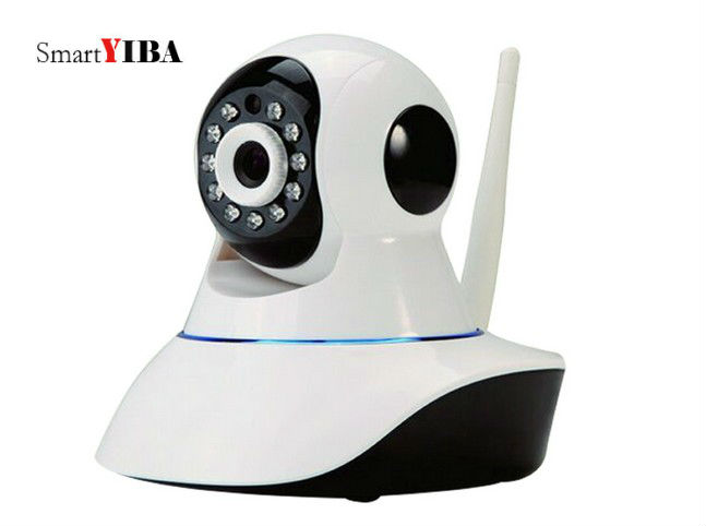 SmartYIBA Home Intelligent GSM Wifi Alarm System Wireless App IP Camera Red Strobe Siren Alarm WIFI Wireless Alarmes Kits