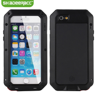 SC53 For iPhone 6 6s 4.7 inch Dirt Waterproof Shockproof Phone Cases Covers All Around Protection Back Shell Housing Accessory