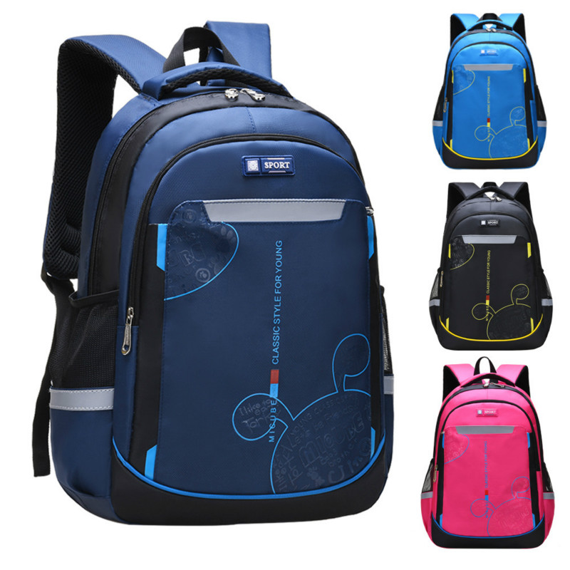 New School Bags For Boys Girls Children Backpacks Primary Students Orthopedic Backpack Waterproof Schoolbag Kids Mochila