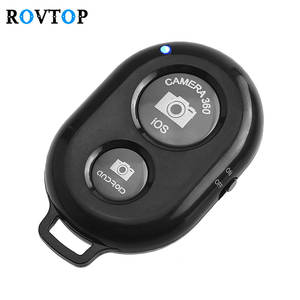 Rovtop Bluetooth Remote Shutter Release Phone Camera Monopod Selfie Stick Shutter Self-timer Remote Control for IOS Android Z2
