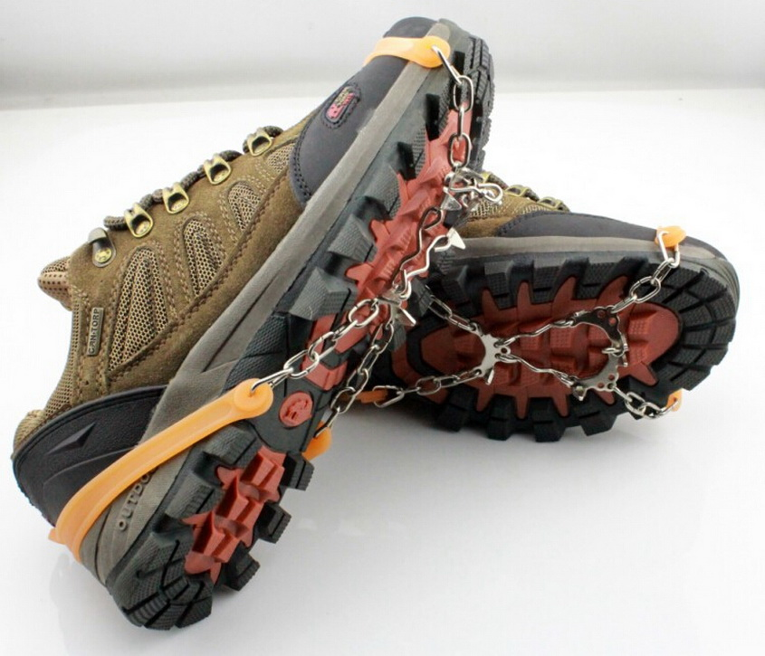 Lauko įranga šeši dantų kronšteinai, sniego neslystantis batų - Kempingai ir žygiai pėsčiomis - Nuotrauka 1