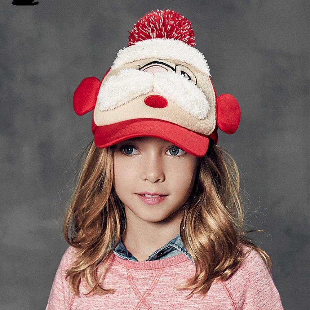 kenmont brand winter autumn cute children kids girls boys visor hat