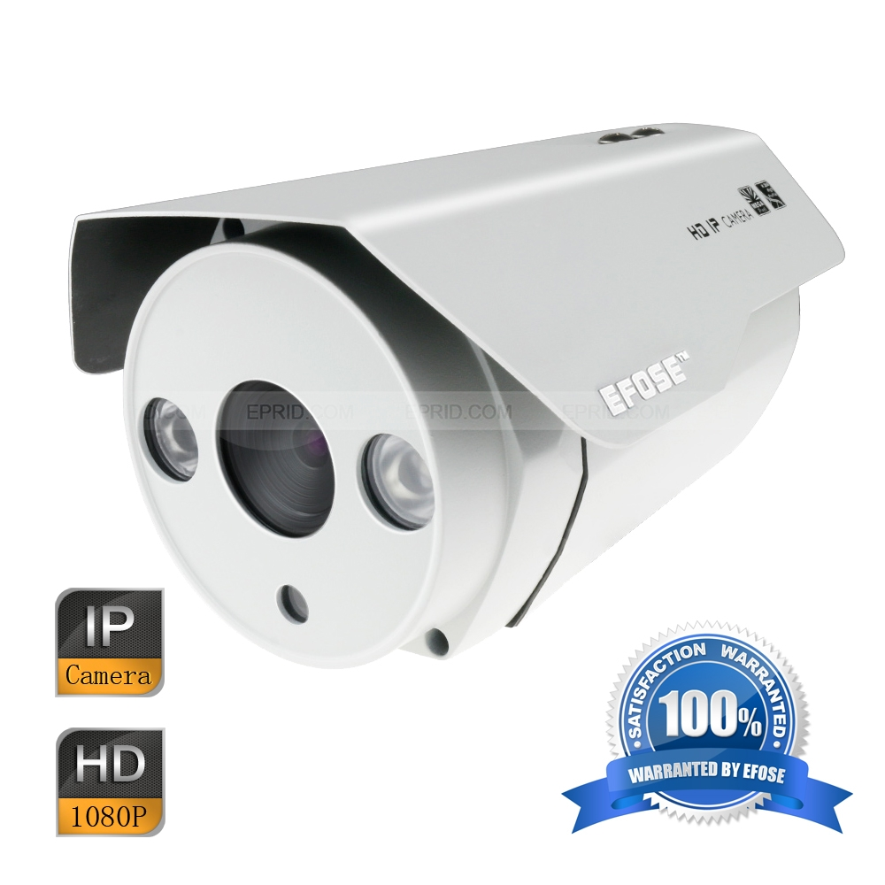 EFOSE FO-3IB221-N 2MP Full HD Network IR Bullet Camera 1/3 CMOS Outdoor HD 1080P Array IR