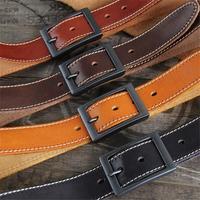 Mens Belts Luxury 100 Genuine Leather Wide Men Belt High Quality Jeans Waist Belt Male Strap