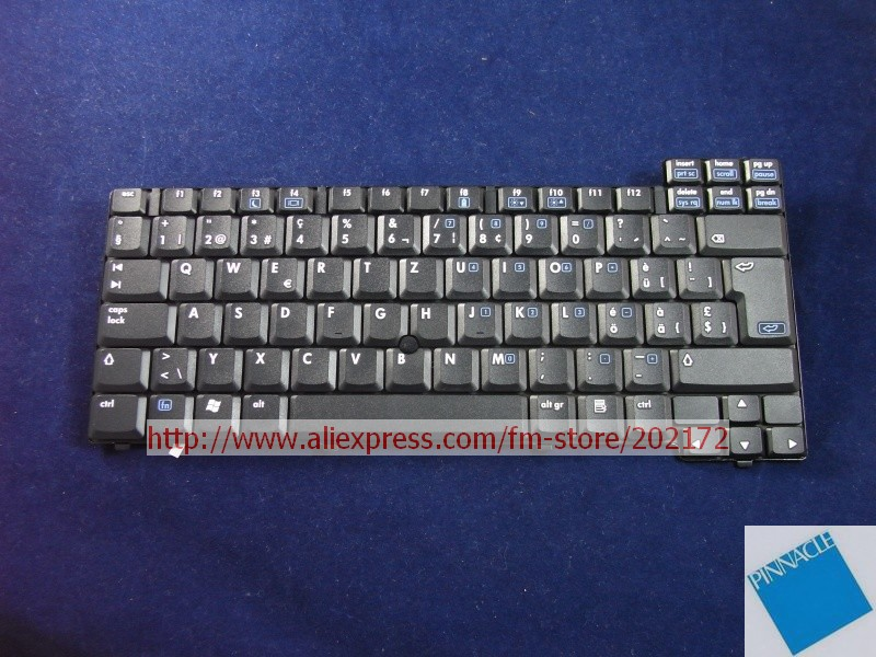 Brand New Black Laptop  Notebook Keyboard 344391-BG1 332948-BG1  NSK-C3600  For  HP Compaq  NC6000 series (Switzerland) laptop keyboard for sony vpc ya serials black black frame gr german 9z n5usw 20g a1803980a