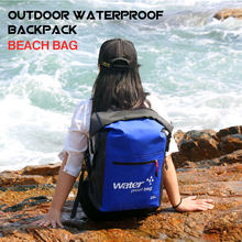 25L Large Capacity Outdoor Snorkeling Bag High Waterproof Backpack Beach Bag Bucket Snorkeling Drifting Swimming Camping Outdoor(China)