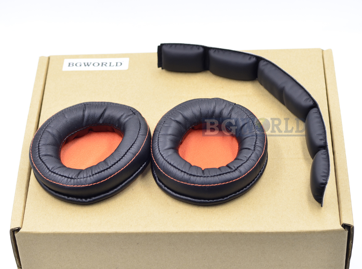 For SteelSeries Siberia 800  840 Wireless Headphone Dolby 7.1 Ear pads Headband