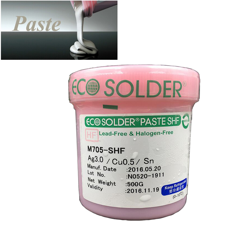 ECO solder paste M705 - s101zh-s4 lead-free solder paste containing silver Sn96.5 ag3cu0.5 solder paste