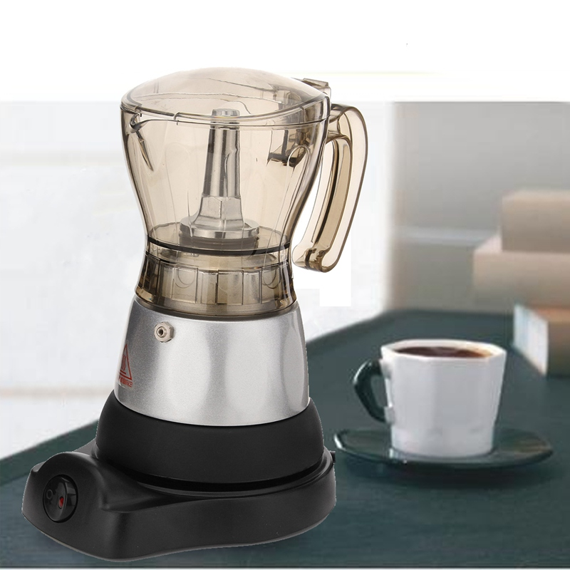 3 minutes Coffee Maker French Press Cafetiere 4 Cups Electric ...
