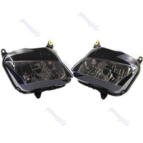 Headlight Head light For Honda CBR600RR CBR 600 RR F5 2007 2008 2009 2010 2011 motorcycle front upper fairing headlight holder brackets for honda cbr600rr cbr600 rr cbr 600 rr 2007 2008 2009 2010 2011 2012