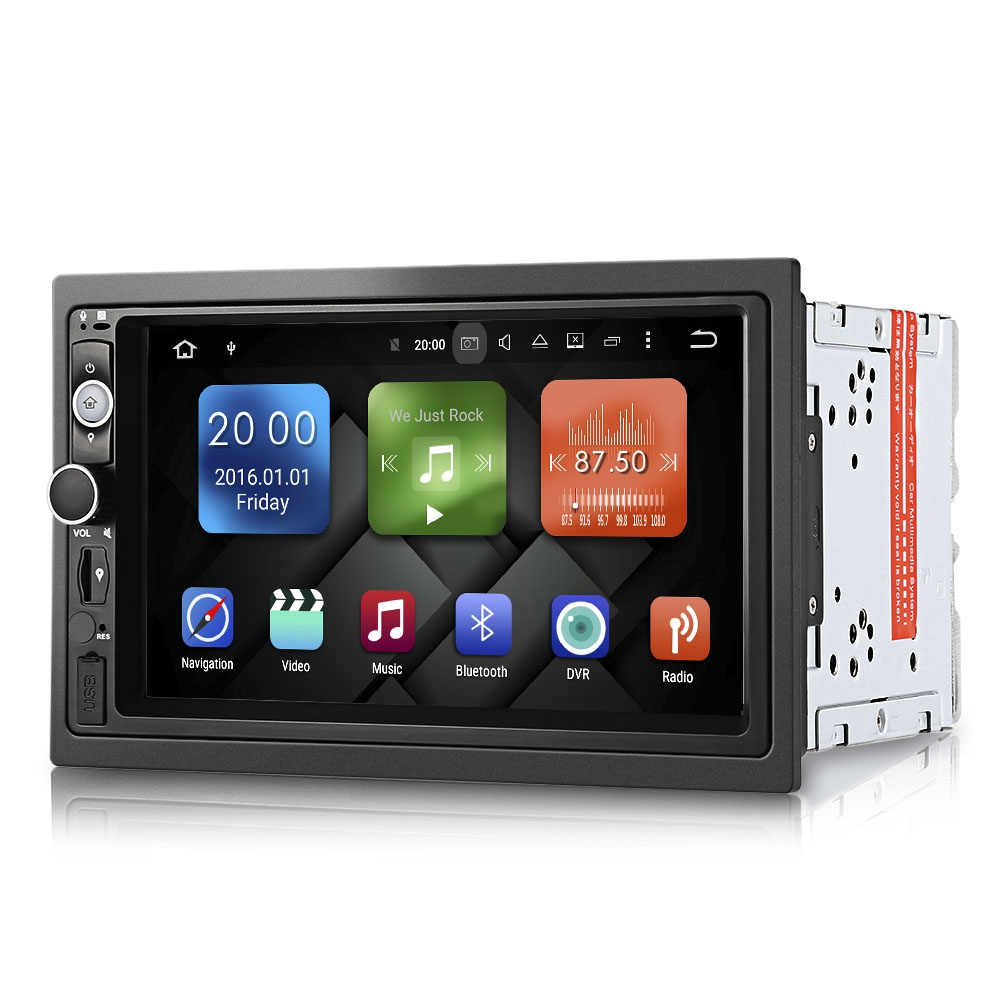Zeepin Android 7 1 2 DY7098 Universal Car DVD player Double Din Car Multimedia Player Radio