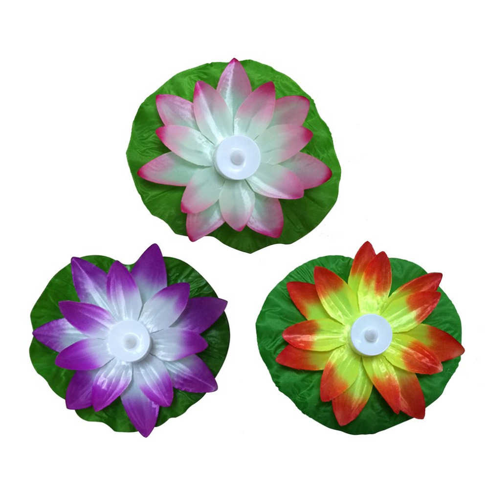 Lotus Shaped Waterproof LED Light 3