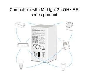Image 4 - Milight yt1 remoto wi fi led controlador amazon alexa controle de voz wi fi sem fio & smartphone app trabalhar com mi. light 2.4g series