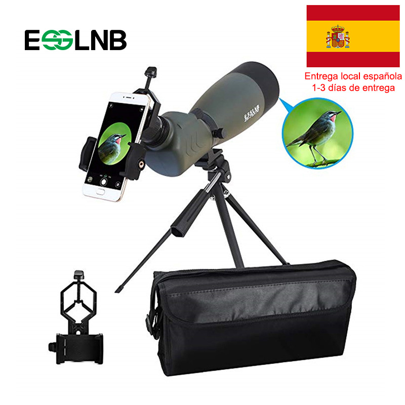 Angled 20-75x70 45 Graus Spotting Scope HD Zoom Telescópio À Prova D' Água Com BAK4 Prisma FMC Telescópio Monocular Âmbito Viagem