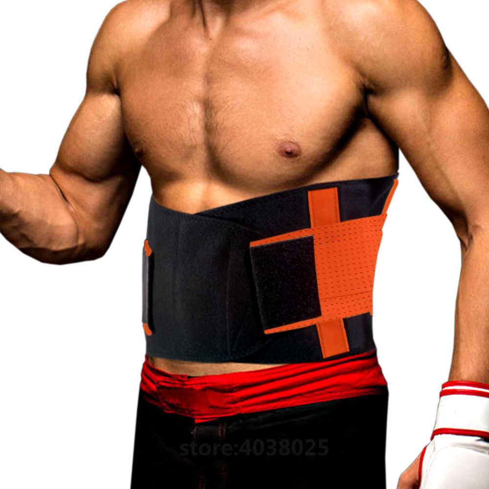 482d62489e8 ... Hot Sport Accessories Back Support Brace Belt Lumbar Lower Waist Double  Adjustable Back Pain Relief Waist ...