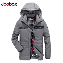 JOOBOX Brand High Quality Cotton Mens Winter Jackets And Coats hombre Hooded Long Thick Warm Casual Male Parka Casaco masculino