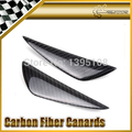 New Car Styling For Volkswagen Scirocco Golf 6 7 GTI R20 Real Carbon Fiber Front Bumper Canards 2pcs