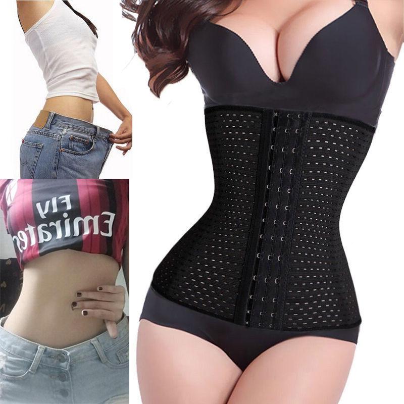 Women Hot Body Shaper Slimming Waist Tummy Belt Waist Cincher Underbust Control Corset Waist Trainer Slimming Belt Shaper