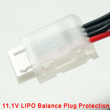 Diy drone kit lipo batterie 11.1 v 3 s li-po 11.1 v Équilibre Chargeur Skyrc Imaxb6 B6ac B8 rc batterie lipo équilibre chargeur plug Pièces