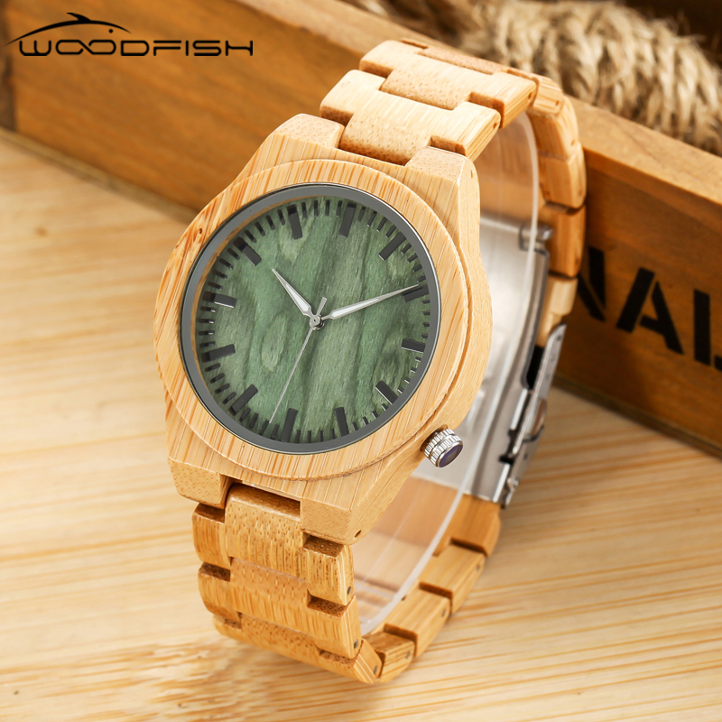 WOODFISH Fashion Wooden Quartz Watch Retro Casual Style Watches Top Quality Wood Watch for Men Women Wristwatches With Gift Box mance n2 new hot sale fashion casual retro style designer quartz watch denim quartz watches relogio feminino quality gift