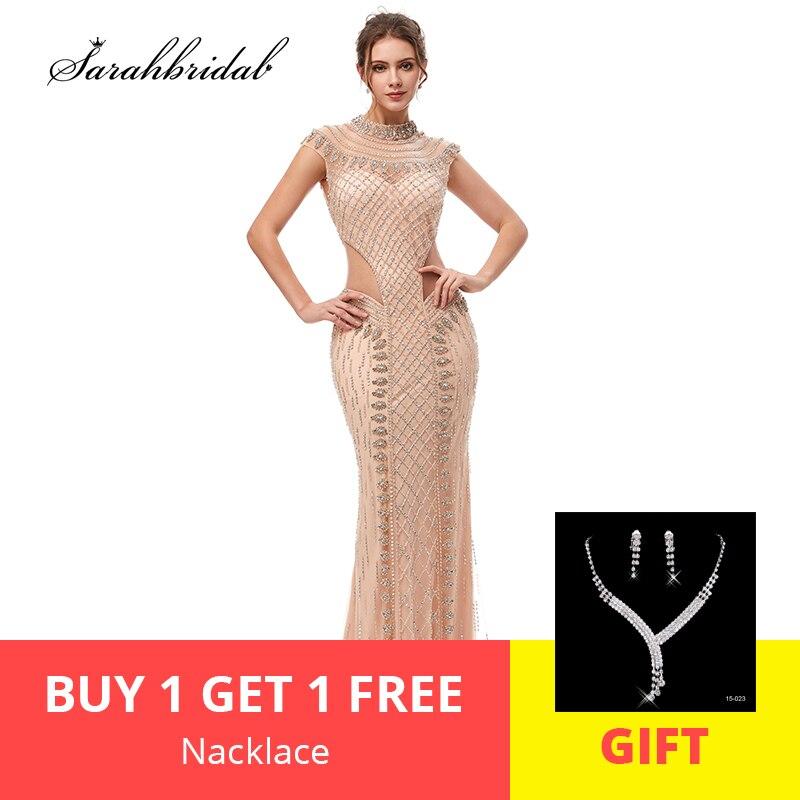 2019 New Arrivals In Stock Elegant   Evening     Dresses   Mermaid Actual Tulle Floor Length Prom Party   Dresses   Robe De Soiree WT5401