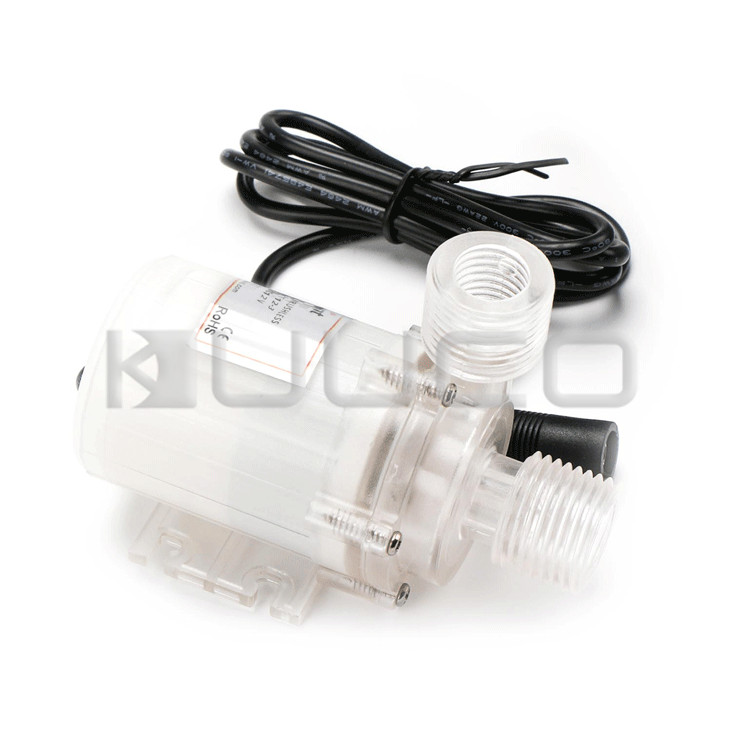 DC 12V Brushless Motor Food Grade Water Pump Amphibious 8L/Min Ultra Quiet Crystal Micro Pump/Booster Pump/Circulation Pump