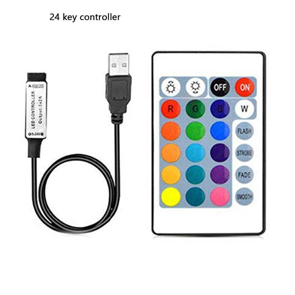 Dây đèn LED 5 V/12/24 V RGB USB IR RF Remote Điều Khiển Từ Xa 3/17/24 chìa khóa Điều Khiển Từ Xa Không Dây Điều Khiển đèn Led cho 5050/3528 Đèn Led Dây