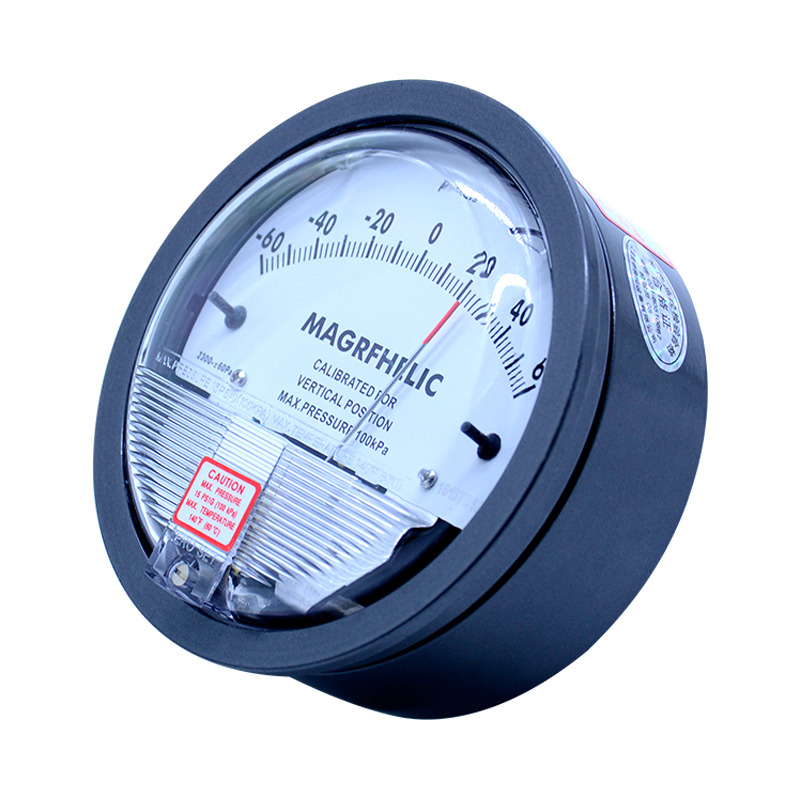 +/-30PA Digital Analog differential pressure table pressure difference meter negative pressure meter table with high quality