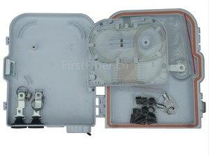 Image 3 - FirstFiber FTTH 8 cores fiber Termination Box 8 port 8 channel Splitter Box indoor outdoor fiber Optical Splitter Box FTB ABS
