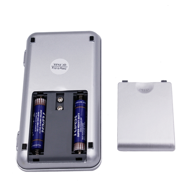 da dhl / fedex 200pz Mini LCD digitale 200g 0,01g Display LCD - Strumenti di misura - Fotografia 5