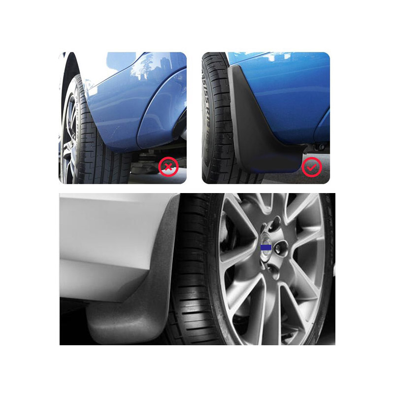 Image 5 - Set Car Mud Flaps For Volvo C30 S40 S60 S80 XC40 XC60 XC90 V40 V60 Mudflaps Splash Guards Mud Flap Mudguards Fender Styling 2018-in Mudguards from Automobiles & Motorcycles