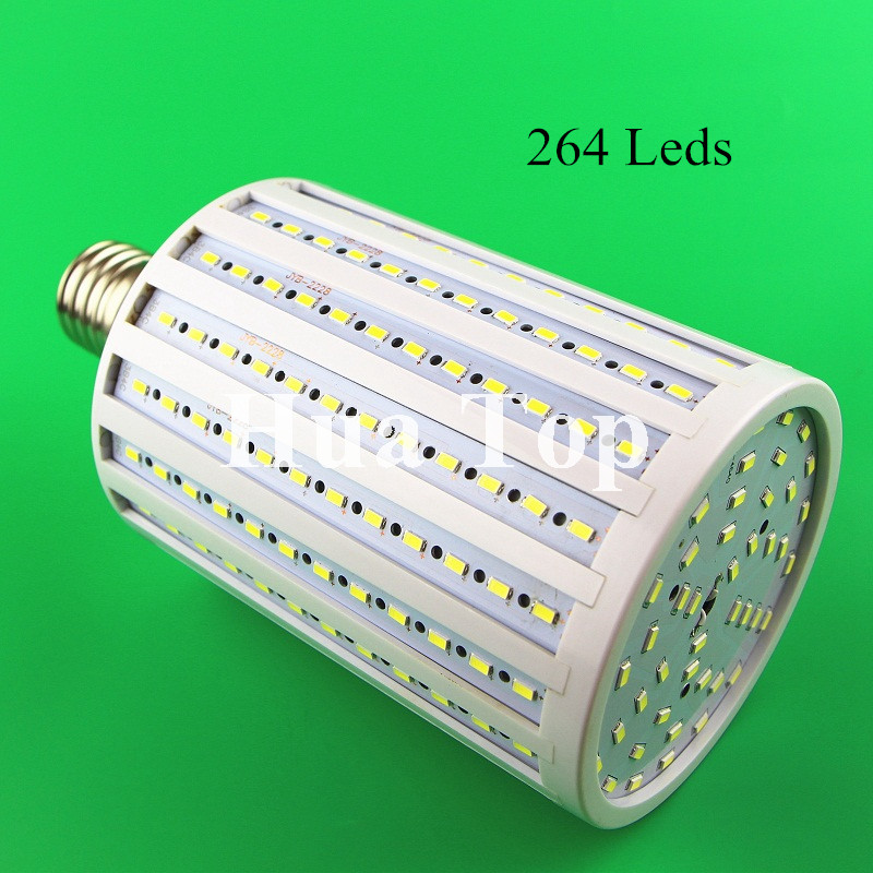 Lampada 100W 264 Leds 5730 Chip LED Corn Lamps E40 E27 E26 B22 Bulb Lights AC 220V 240V 5630 Warm White High Luminous Spotlight led lamp corn bulb spotlight smd 5730 lampada led e27 high power 220v 240v lamparas 24 36 48 56 69 72 96 leds warm cold white