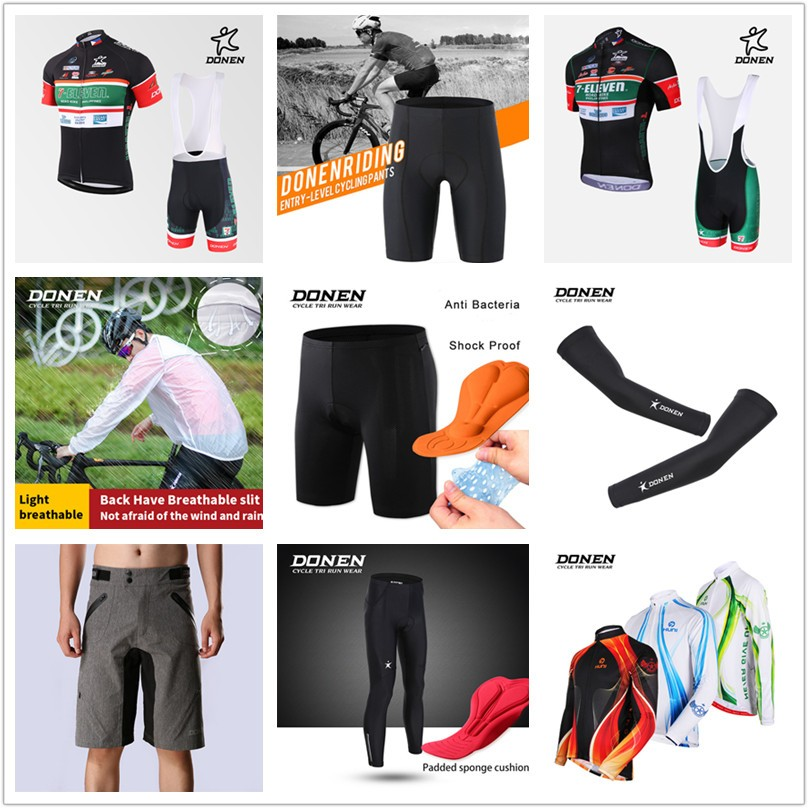 4b6f5dd32 Donen 7-eleven Team Short Sleeve Quick dry Bicycle Club Cycling ...