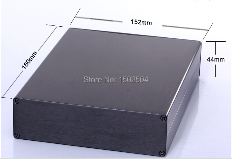 152*44*150mm Aluminum enclosure splitted PCB project power shell box DIY electronics Junction Enclosure цены