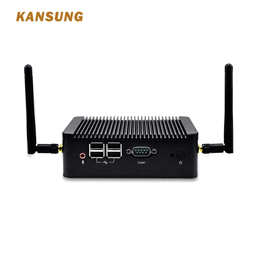 KANSUNG Mini PC Intel Core I3 3217U Industrial Computer WiFi HD VGA Win 7 Win 10 Linux Nettop Micro PC Barebone I3 Micro PC