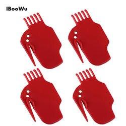4 шт очистки лезвия запчасти для XIAOMI щётка для пылесоса красный легкой чистки Запчасти для iRobot 5/6/7 щётка для пылесоса