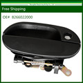 Drop Shipping- 100%Brand New Black Front Exterior Door Handle For 95-99 Hyundai Accent RH 82660-22000