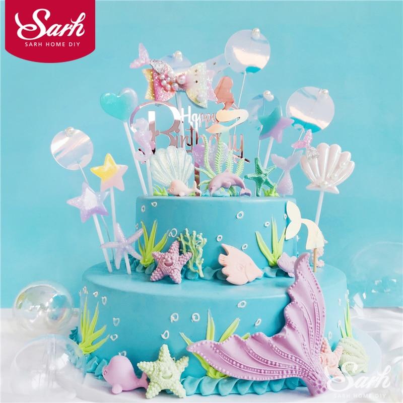Peachy 8Eb311 Buy Starfish Wedding Cake Topper And Get Free Shipping Zw Personalised Birthday Cards Akebfashionlily Jamesorg