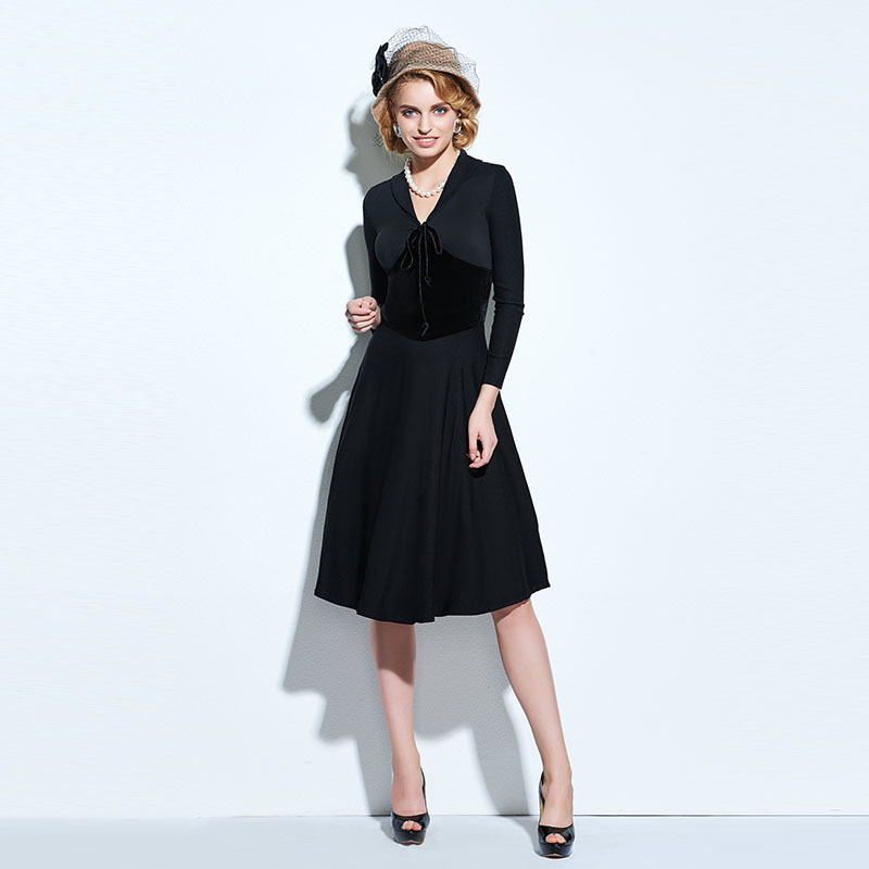Online Get Cheap Plain Black Dress -Aliexpress.com  Alibaba Group