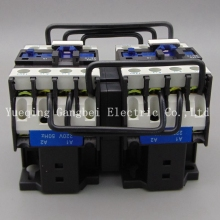 CJX2-1810N reversing contactor mechanical interlocking contactor voltage 380V 220V 110V 36V 24V cjx2 3210 ac contactor 32a 35mm din rail 50 60hz 3p 1no 380v 220v 110v 36v 24v coil volt contactor