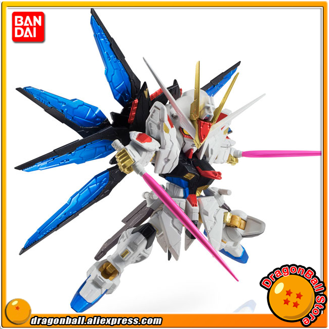 Mobile Suit Gundam SEED Destiny Original BANDAI NXEDGE STYLE No. 0020 Action Figure - Strike Freedom Gundam (RE:COLOR Ver.) 4 in 1 multifunction charging dock station cooling fan external cooler dual charger for xbox one controllers s game console