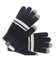 Autumn and winter Men and women full finger Fashion touch wool knited keep warm Gloves & Mittens K025