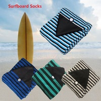 Surfboard Socks Cover 6/ 6.3/ 6.6/7ft Surf Board Protective Bag Storage Case Water Sports for Shortboard Funboard Surfing Sports