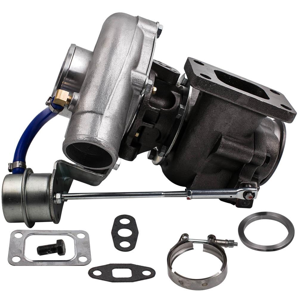 범용 Turbo T3 T4 T04E A / R .50 A / R .63 V- 밴드 오일 2.0-3.5L - 자동차부품 - 사진 5