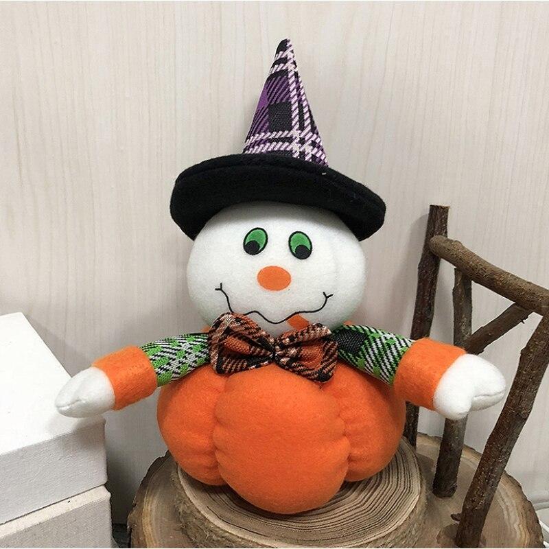Popular Home Decor Gift Ideas For Christmas: Halloween Decorative Ornaments Cartoon Pumpkin Doll