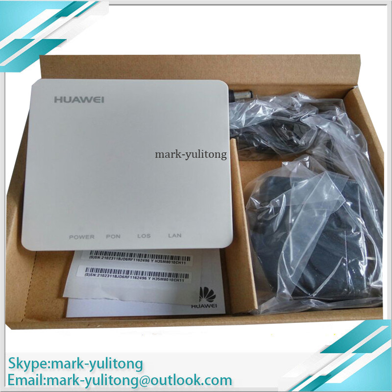 Onu Epon Original New Hua Wei HG8010H HG8010 Epon Onu With 1GE FTTH ONT Applies To FTTH Mode, English Version