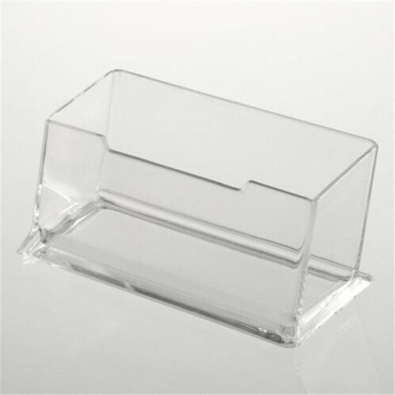 1pcs New Clear Desk Shelf Box Storage Display Stand