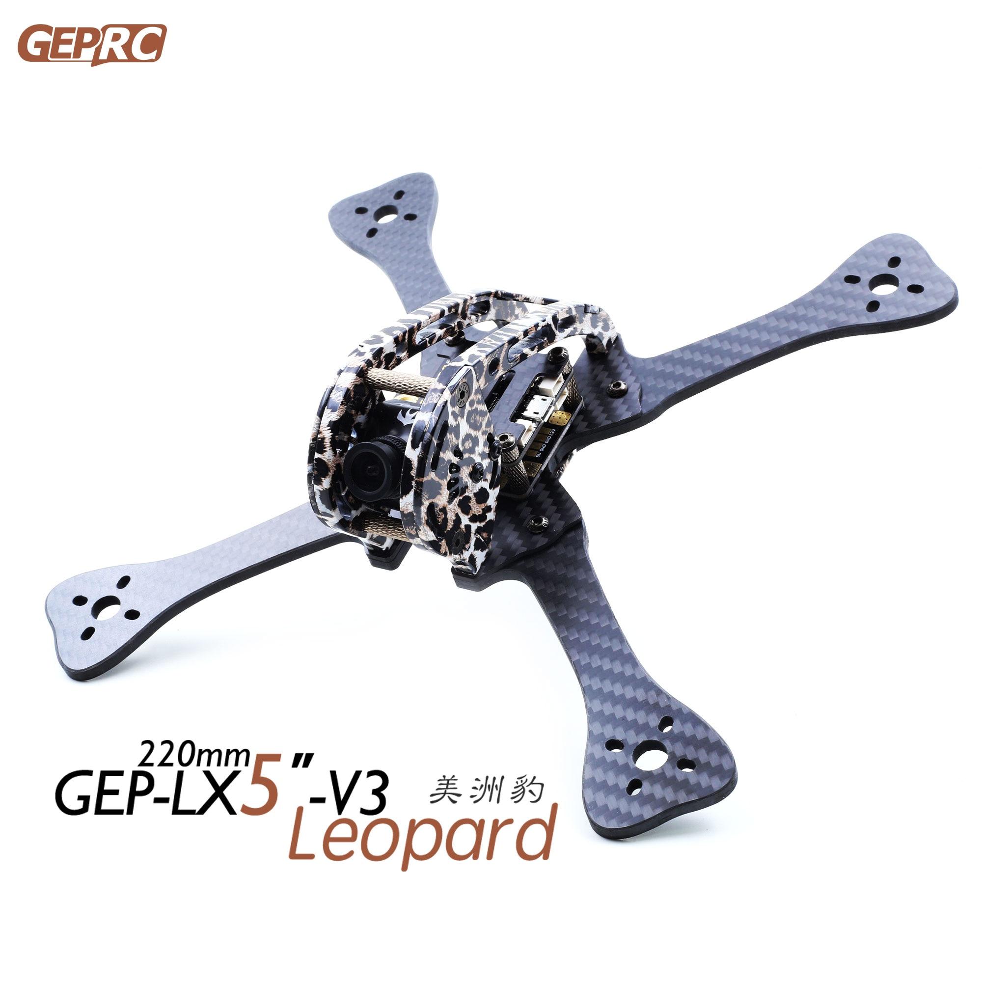 F-Cloud GEPRC/ GEP-LX5-V3 Leopard Jaguar 7075 aeronautical aluminum parts FPV traverser Leopard Print цены онлайн