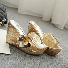 2019 New Fashion Women Platform Sandals Wedges Sandals Summer Gold/Silver Female Shoes Casual Lady Shoes Woman Footwear цена и фото