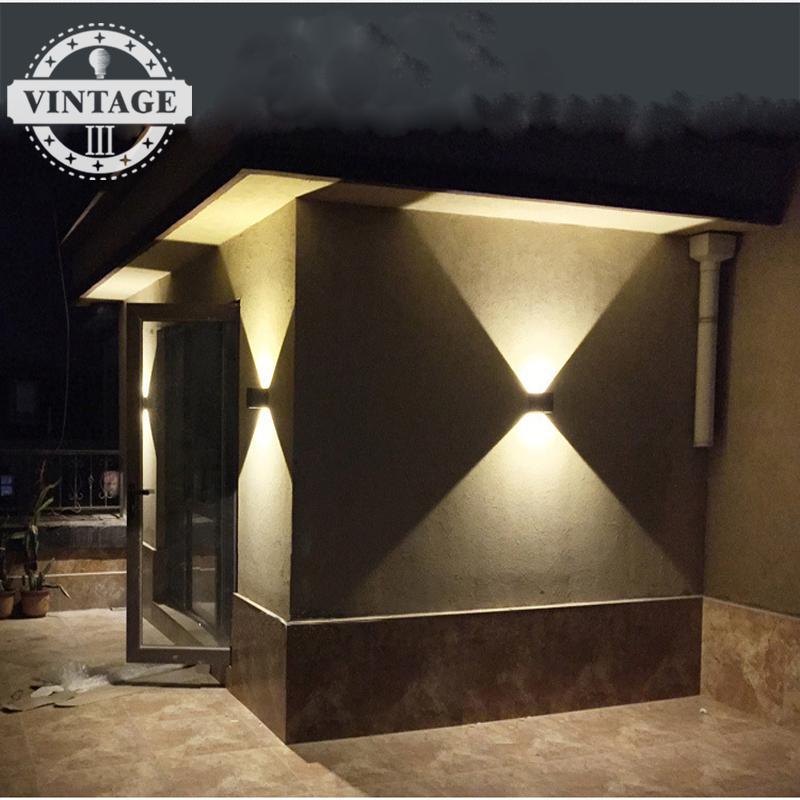 Buitenverlichting Waterdicht Moderne Led Wandlamp